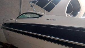 Lancha Real Boats, 30 pés, motor Mercruiser 6.2, 300 hp, zero horas